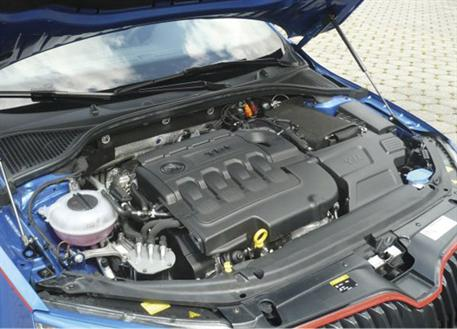 Plynové vzpěry kapoty pro vůz Škoda Octavia III (Typ 5E)
