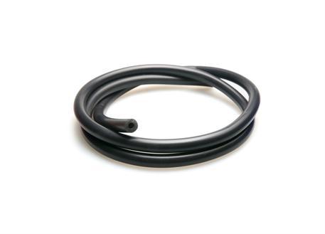 Podtlaková silikonová hadička s vnitřním průměrem 3mm černá, délka 1 metr