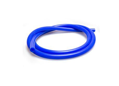Podtlaková silikonová hadička s vnitřním průměrem 6mm modrá, délka 1 metr