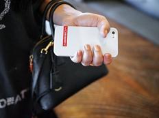 Vossen pouzdro na iPhone 5 bílé s logem - výprodej