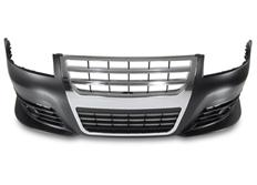 Kompletní přední nárazník včetně masky chladiče pro VW Passat 3BG - v designu VW Passat 3C