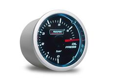 PROSPORT Smoke Lens přídavný ukazatel tlaku oleje 0-7 bar s kouřovým překrytím