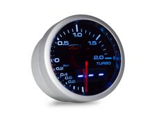 Přídavný ukazatel tlaku turba - elektronický Depo Racing Dual View