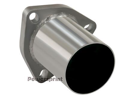 Powersprint nerezová příruba trojúhelníková rovná, vnější průměr 45 mm, délka 100 mm