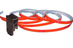 Barevné linky na obvod kola