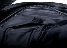 Raemco Dámská kabelka vyrobená z bezpečnostních pásů, německá trikolóra, větší