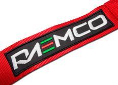 Raemco sportovní 4-bodový bezpečnostní pás červený se otočnou rychlosponou