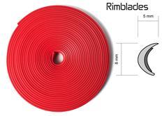 Rimblades - ochranný profil na alu kola červený