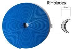 Rimblades - ochranný profil na alu kola modrý