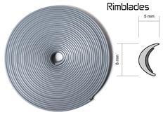 Rimblades - ochranný profil na alu kola stříbrný