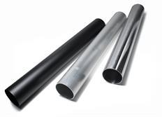 Rovná hliníková trubka 63 mm x 450 mm, různé povrchové úpravy
