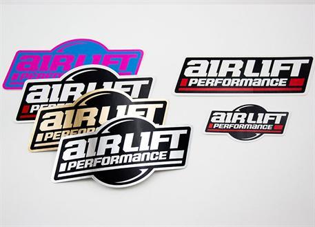 Sada originálních samolepek Air Lift Performance 6ks