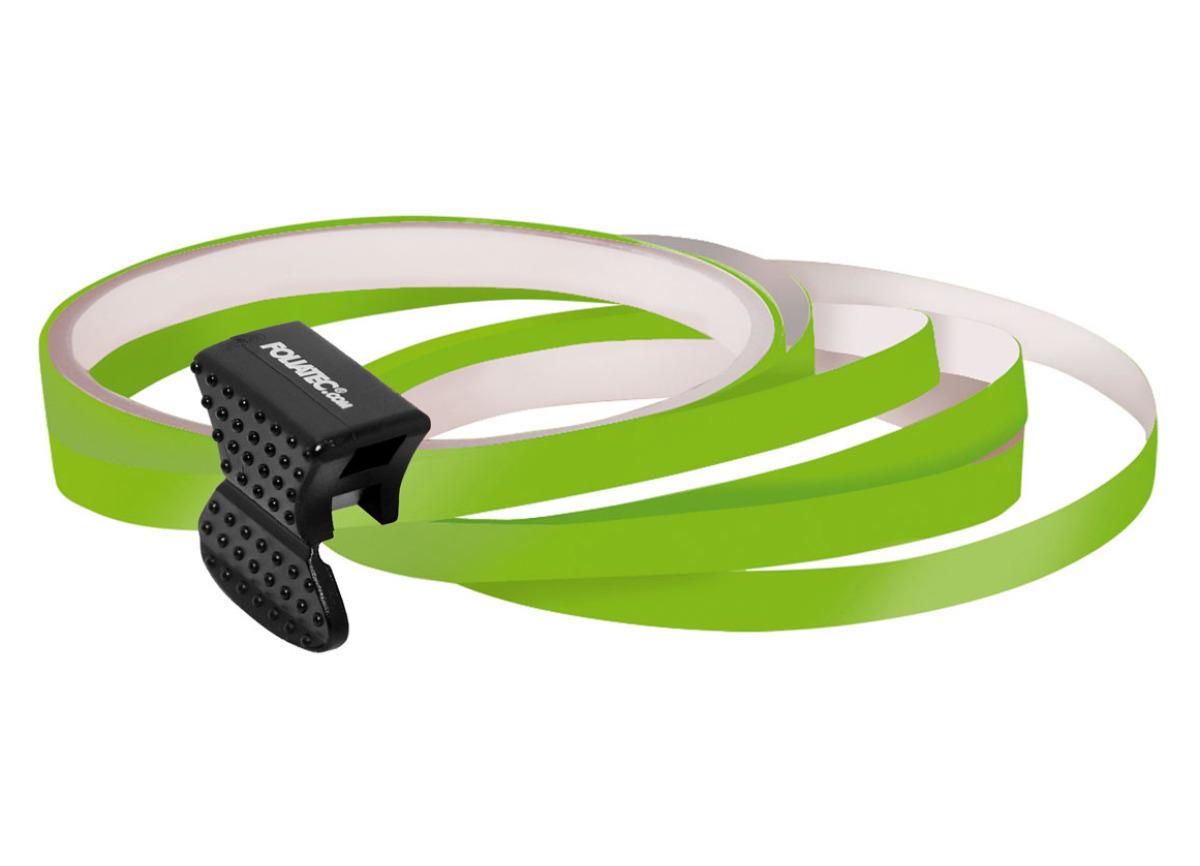 Samolepící linka na obvod kola Foliatec - zelená