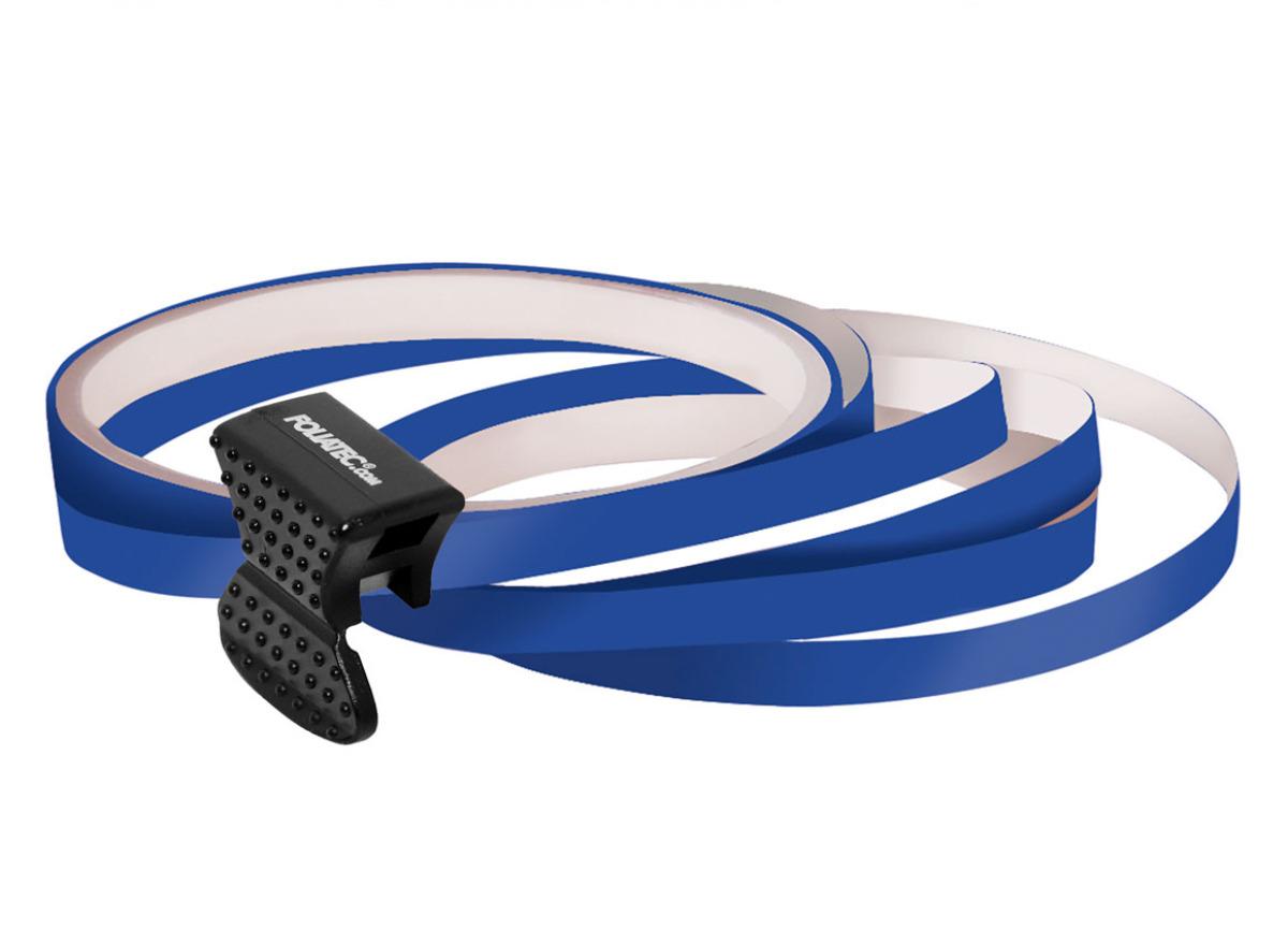 Samolepící linka na obvod kola Foliatec - tmavě modrá