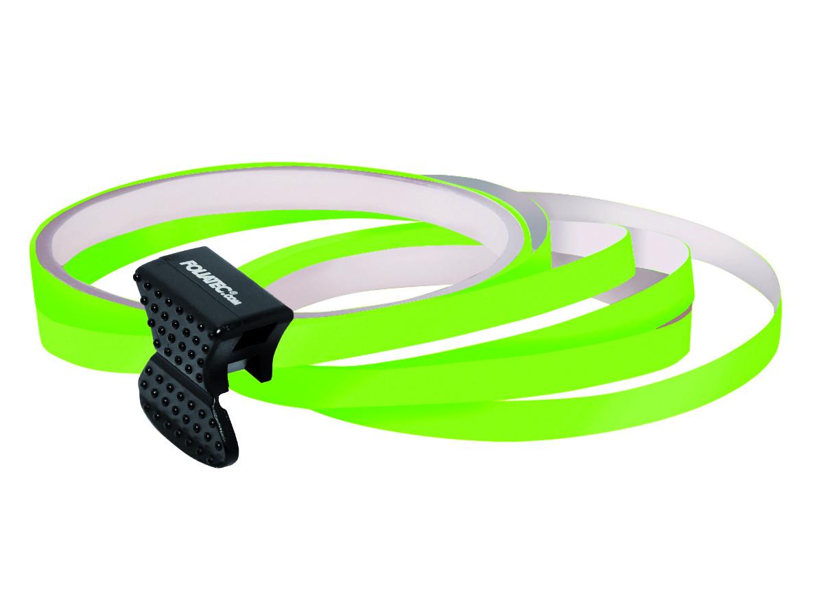 Samolepící linka na obvod kola Foliatec - neonová zelená
