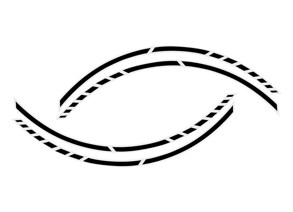 Samolepící linka na obvod kola Foliatec RACING - černá