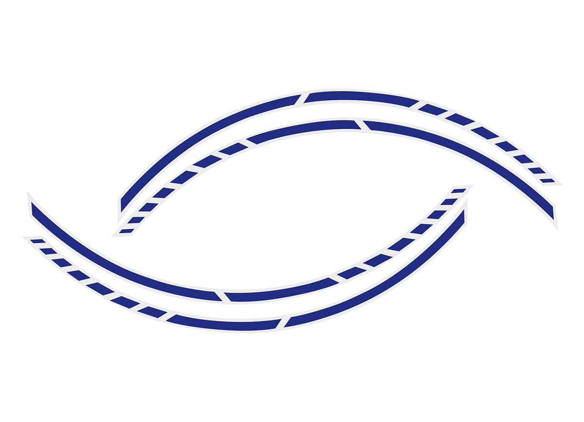 Samolepící linka na obvod kola Foliatec RACING - modrá