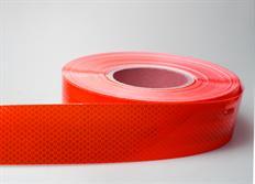 Samolepicí reflexní páska červená - délka 1m
