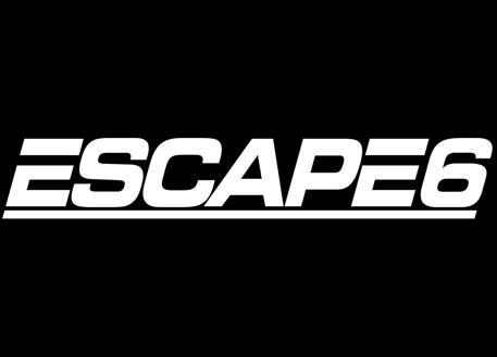 Samolepka Escape6, 60 cm, bílá