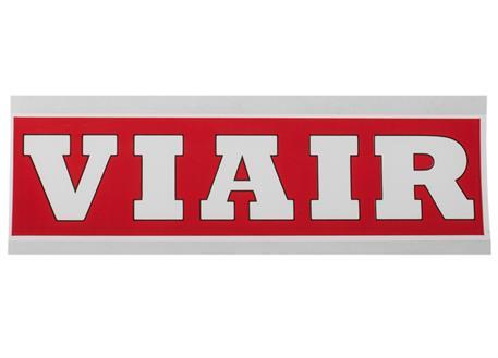 VIAIR originální samolepka 40 x 153 mm, červená