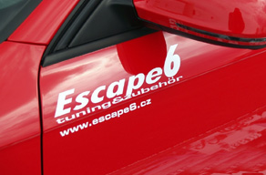 Naše samolepky Escape6