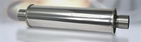 Powersprint koncový tlumič kulatý, průměr příruby 76 mm