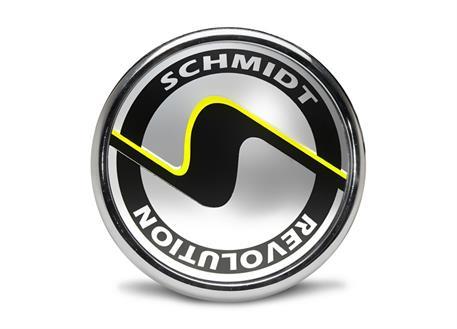Středová poklička Schmidt s chromovým rámečkem