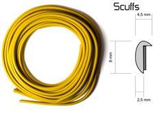 Scuffs - ochranný profil na alu kola žlutý