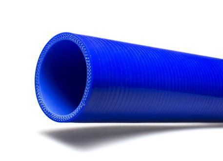 Silikonová rovná hadice s vnitřním průměrem 54 mm, modrá, délka 0,5 m