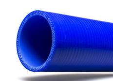 Silikonová rovná hadice s vnitřním průměrem 63mm, modrá, délka 0,5m