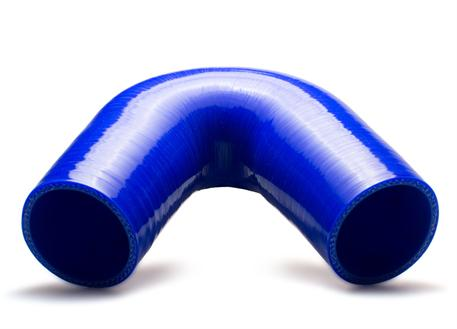 Silikonové koleno 135 stupňů s vnitřním průměrem 57 mm