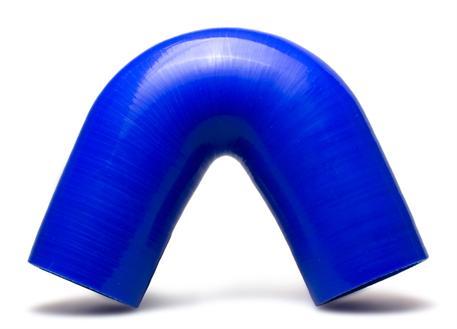 Silikonové koleno 135 stupňů s vnitřním průměrem 63 mm