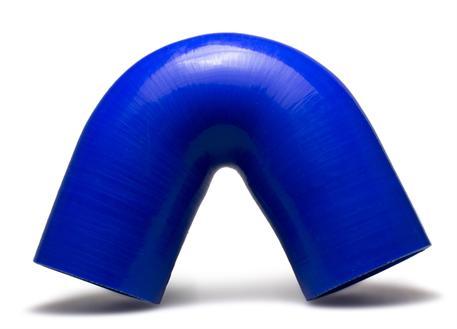 Silikonové koleno 135 stupňů s vnitřním průměrem 76 mm