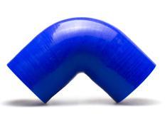 Silikonové koleno 90 stupňů s vnitřním průměrem 70 mm, modré