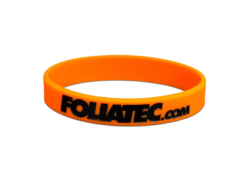 Silikonový náramek FOLIATEC