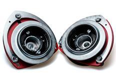 Nastavitelné horní uložení Silver Project pro VW Golf 5/6 červené