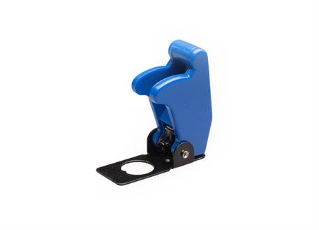 Kryt vypínače modrý