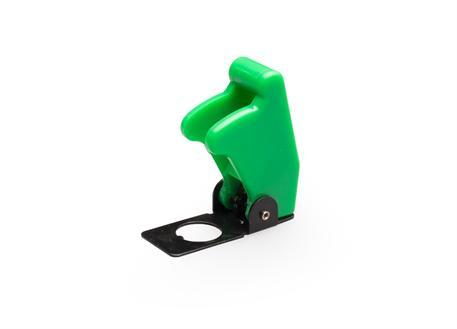 Kryt vypínače zelený
