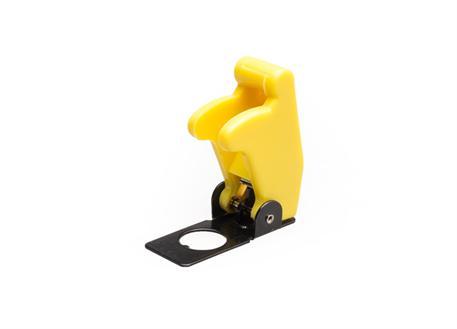 Kryt vypínače žlutý