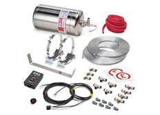 Sparco 014772EXL hasicí systém s elektrickým spouštěčem a nerezovou nádobou, 4,25 l, FIA 2000
