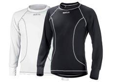 Sparco pulover Basic bílý, černý