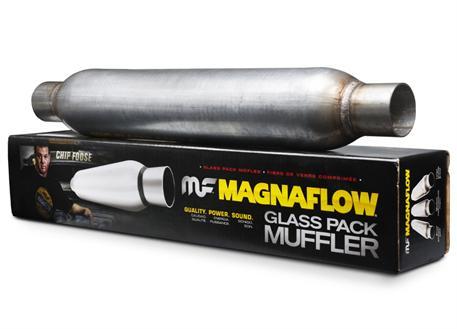 Sportovní rezonátor Magnaflow Glasspack s průměrem otvoru 54 mm, délka 760mm