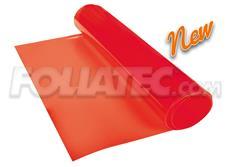 Transparentní fólie na světla FOLIATEC červená 100x30 cm