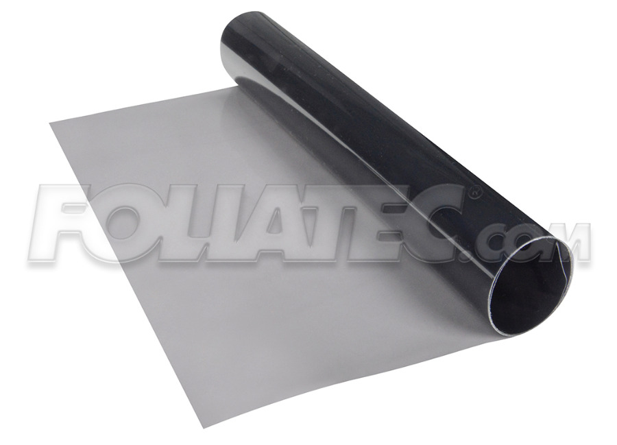 Transparentní fólie na světla FOLIATEC kouřová 100x30 cm