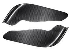 Univerzální carbonový dvoudílný spoiler / splitter předního nárazníku Typ 1