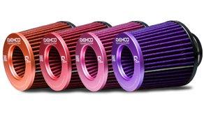 Barevné vzduchové filtry