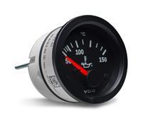 VDO série Cocpit Vision přídavný ukazatel teploty oleje