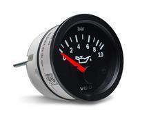 VDO série Cocpit Vision přídavný ukazatel tlaku oleje 0-10 Bar