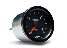 VDO série Cocpit Vision přídavný ukazatel tlaku turba 0-3bar