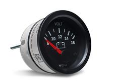 VDO série Cocpit Vision přídavný ukazatel voltmetr